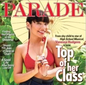 Vanessa Hudgens dla magazynu Parade (FOTO)