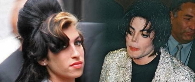 Winehouse nawiedził duch Jacksona