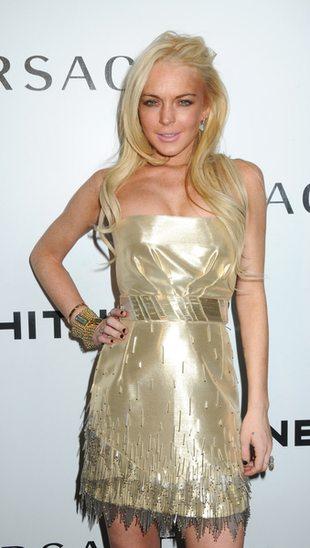 Lindsay Lohan wygląda na dobrą czterdziestkę (FOTO)
