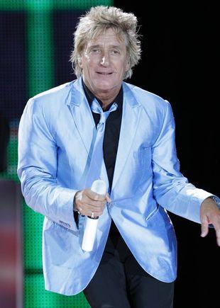 Rod Stewart – 66-letni młodzieniaszek (FOTO+VIDEO)