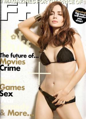 Eliza Dushku rozebrała się dla FHM
