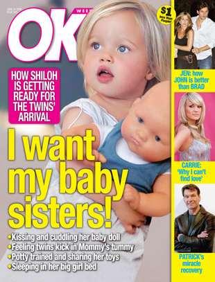 Shiloh na okładce magazynu OK!