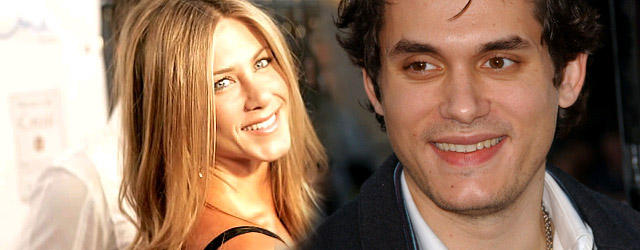 John Mayer zasypuje Jennifer Aniston kwiatami