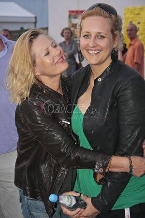 Szapołowska z córką - prawie jak siostry (FOTO)