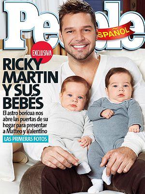 Ricky Martin i pierwsza kąpiel jego bliźniaków