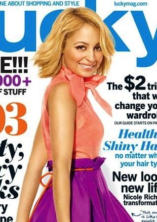 Nicole Richie o swoim stylu w magazynie Lucky (FOTO)
