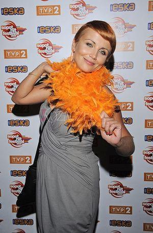 Katarzyna Zielińska wypoczywa w Sopocie (FOTO)