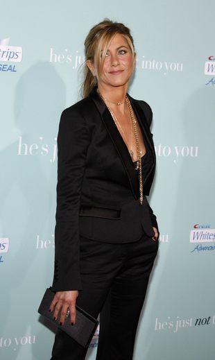 Jennifer Aniston płakała przez siwiznę