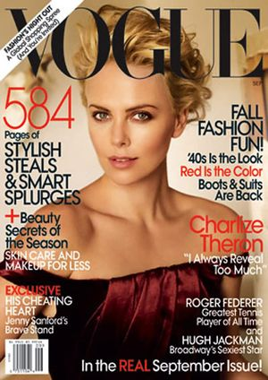Charlize Theron dla Vogue (FOTO)