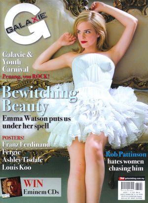 Emma Watson w magazynie Galaxie (FOTO)