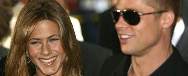 Brad Pitt na obiedzie z Jennifer Aniston