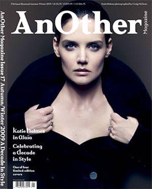 Katie Holmes na okładce AnOther (FOTO)
