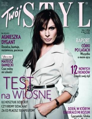 Z czego Agnieszka Dygant robiła perfumy?