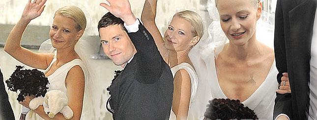 Zobacz zdjęcia ze ślubu Małgorzaty Kożuchowskiej!