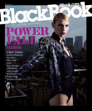 Claire Danes w BlackBook (FOTO)