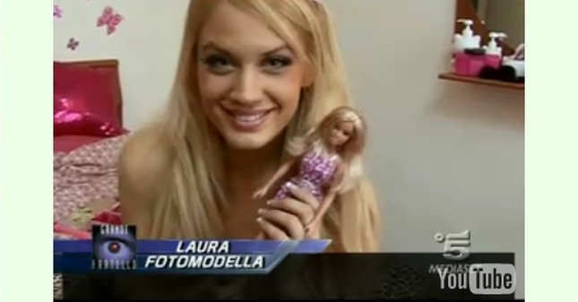 Laura Drzewicka - polska Barbie we włoskim Big Brotherze