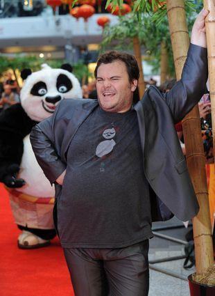 Jack Black na premierze Kung Fu Panda 2 (FOTO)