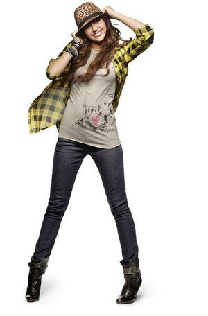 Miley Cyrus i jej kolekcja ubrań (FOTO)