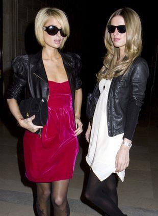Paris i Nicky Hilton w swoim żywiole (FOTO)