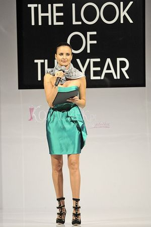 Horodyńska podczas The Look of The Year 2009 (FOTO)
