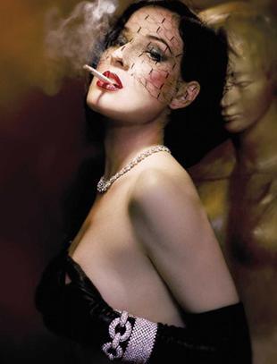 Dita Von Teese - żadnego seksu (FOTO)