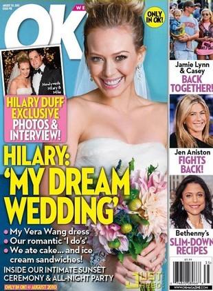 Zobaczcie suknię ślubną Hilary Duff! (FOTO)