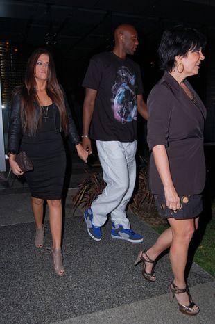 Khloe przedstawiła Lamara rodzinie (FOTO)