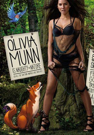 Olivia Munn w proteście PETA (FOTO)