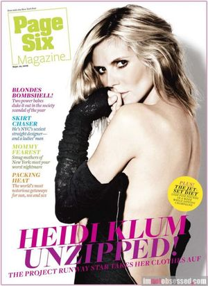 Heidi Klum w wywiadzie dla Page Six (FOTO)