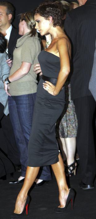 Nowa Victoria Beckham: je, biega i się śmieje