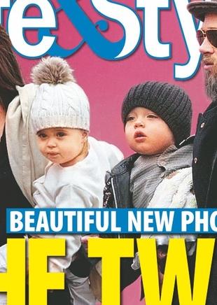 Knox Jolie-Pitt w objęciach babci (FOTO)