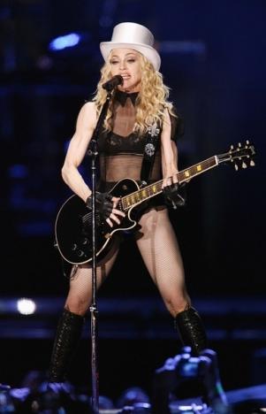 Kto nie ma wstępu na show Madonny? (VIDEO)