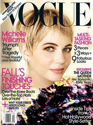 Michelle Williams w Vogue (FOTO)