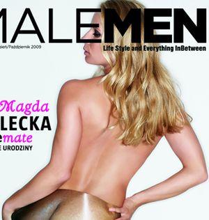 Magdalena Cielecka nago w MaleMen (FOTO)