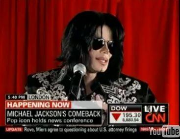 Czy to ostatnia konferencja Michaela Jacksona?