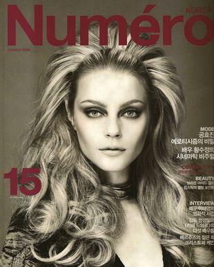 Jessica Stam w magazynie Numero (FOTO)