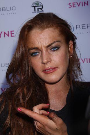 Lindsay Lohan łysieje!