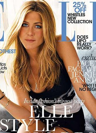 Jennifer Aniston w Elle (FOTO)
