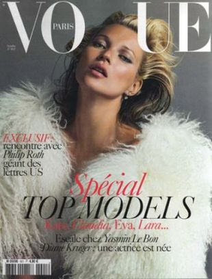 Kate Moss dla francuskiego Vogue'a (FOTO)