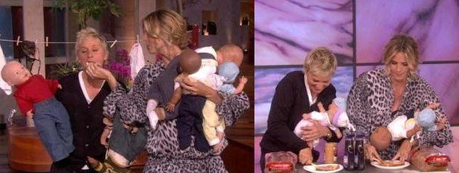 Ellen DeGeneres testuje Heidi Klum (VIDEO)