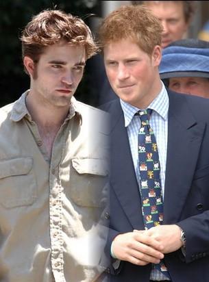 Robert Pattinson zagra Księcia Harry'ego?