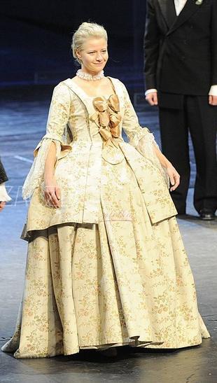 Małgorzata Kożuchowska w barokowej sukni (FOTO)
