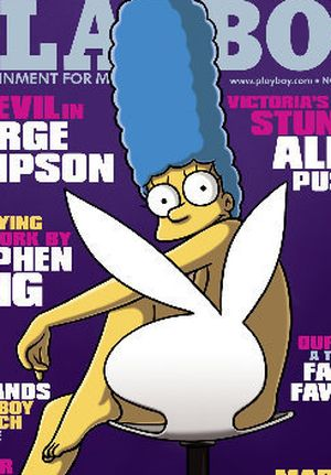 Marge Simpson w Playboy'u (FOTO)