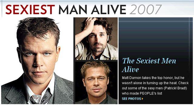 Najseksowniejszy Matt Damon