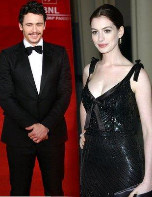 Hathaway i Franco poprowadzą tegoroczne Oscary