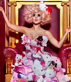 Lady GaGa ubrana w pluszaki (FOTO)