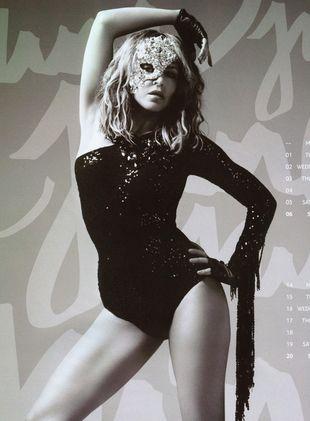 Kalendarz Kylie Minogue na 2010 rok (FOTO)
