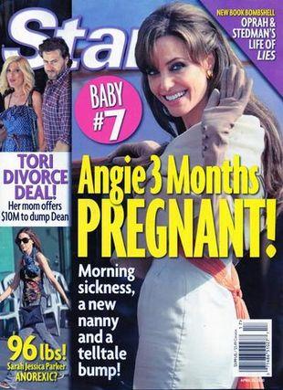 Angelina Jolie w ciąży z dzieckiem nr 7?