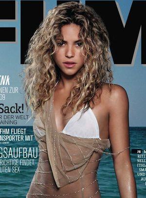 Shakira w magazynie FHM (FOTO)