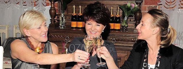 Gwiazdy w szampańskim humorze (FOTO)